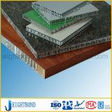 Hölzernes Korn-Aluminiumbienenwabe-Panel für Baumaterial