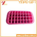 Custom de silicona de grado alimentario de la bandeja de cubitos de hielo para la venta