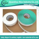 中国からの赤ん坊のおむつの原料の側面テープ