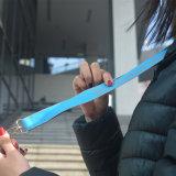 Pubblicità del disegno di nylon su ordinazione delle sagole del supporto di identificazione della cinghia
