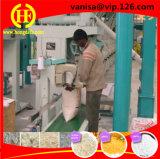 10t beenden Mais Miling Zeile Mais-Mehl-Fräsmaschine für Kenia-Sambia