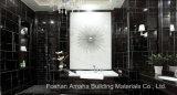 Mosaico de Foshan materiales de construcción de la luz de todo el cuerpo Pulido Baldosa porcelana esmaltada en negro (BMG18P)