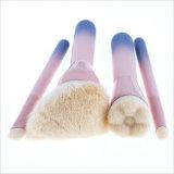 卸し売り4PCS木のハンドルの構成のブラシキットの粉のブラシの基礎ブラシセット