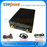Velocidade do controle de dispositivo do sistema do seguimento do GPS do carro com o regulador de velocidade dupla