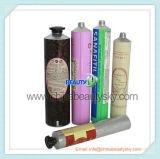 Finition de l'huile de couleur argent crème pour les mains de l'étiquetage tube en aluminium vides