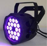 PARITÉ de 18X10W 6in1 RGBWA+UV DEL pour l'éclairage extérieur