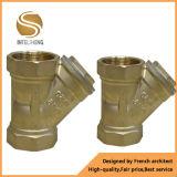 Filtro de válvula, filtro de latão Y