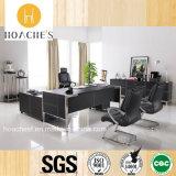 Chinesischer neuer hoher gute Qualitätsbüro-Tisch mit Leder (V2)