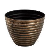 旧式なプラスチック植木鉢(KD3811S-KD3814S)