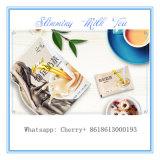 減量のための食事療法のミルクの茶