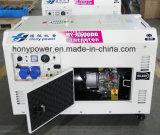 10kw 공냉식 특별한 디자인 디젤 엔진 발전기 열린 구조
