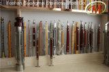 Piliers matériels de pêche à la traîne d'acier inoxydable et en bois
