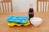 De la categoría alimenticia promocional de hielo del silicón del molde, la bandeja de la bola de hielo de silicona