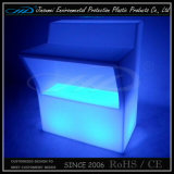 Moulage rotatif Plastique Moderne Changement de couleur Bar Meuble LED Table