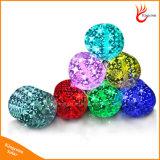 옥외 팽창식 태양 야영 손전등 빛을 바꾸는 다채로운 10의 LED RGB 색깔
