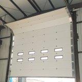 Покрасьте стальные автоматические секционные поднимаясь промышленные двери (HF-0164)