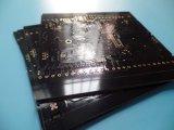 4 Kring 1.6mm van PCB van de laag 1oz Zwarte Gouden PCB van de Onderdompeling van PCB