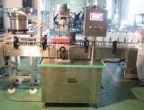 Máquina tampando do auto frasco para o frasco detergente do creme da loção do gel da mão do champô