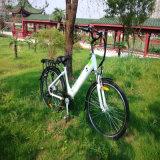 Batería de 26pulgadas escondidas bicicleta eléctrica para la Mujer