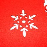 3mm et 5mm 100% polyester Placemat pour des décorations de dessus de table et de Noël