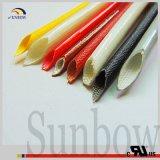 A batalha de Sunbow UL1441 resiste a flama - fibra de vidro retardadora do silicone que Sleeving Sb-SGS-15