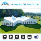 Estrutura de alumínio com cobertura de PVC 1000 lugares Tenda de festa mista para cerimônia de casamento