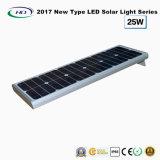 2017 nuevo tipo luz solar toda junta 25W del jardín del LED