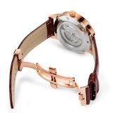 مصنع رجال ساعة آليّة آليّة مع علبيّة درجة نوعية 72577