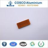 Dissipatore di calore di alluminio d'anodizzazione di alta qualità per il consumatore elettronico