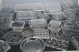 Contaiers plástico que faz a máquina com o empilhador para BOPS (HSC-510570C)