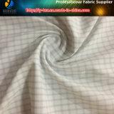 나일론 스판덱스 털실의 연약한 Handfeeling는 염색했다 셔츠 (YD1166)를 위한 능직물 검사 직물을