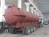Aanhangwagen van de Tanker van de Riolering 30000liters van de Prijs van China de Goedkope Op zwaar werk berekende