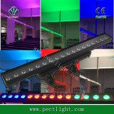 Pixel-Wand-Unterlegscheibe-Licht LED-18*10W 4in1