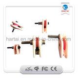 Guide de câblage en céramique de tresse de filé de Texitle
