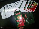 Карточки выдвиженческого бумажного покера играя для вина