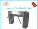Tipo sistema da ponte da altura da cintura do controle de acesso da porta da barreira da segurança dos torniquetes do tripé