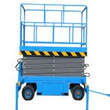 Levage hydraulique mobile de ciseaux (hauteur maximum 7m)