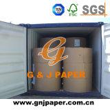 papier excentré blanc réutilisé par 80g de pulpe dans la bobine à vendre