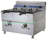 Braadpan van uitstekende kwaliteit van het Gas van het Roestvrij staal van de Apparatuur van de Keuken de Diepe Commerciële