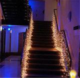 Luzes de Natal Solar do LED para decorações ao ar livre de Natal