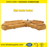 Sofà cinese del cuoio del salone della mobilia del cuoio della casa della fabbrica