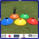Cones de treinamento de futebol de PE de 20 * 5cm coloridos para promoção