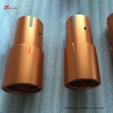 Piezas de metal de anodización modificadas para requisitos particulares chinas del CNC de la alta calidad de la venta que trabajan a máquina caliente