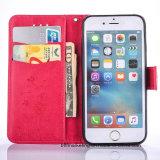 iPhone и Samsung аргументы за мобильного телефона бумажника кожаный