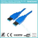 Neuer Qualitäts-Mann USB-3.0 zum männlichen USB-Kabel