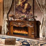 Los muebles LED del hotel del soporte de la TV encienden la chimenea eléctrica del calentador (331S)