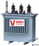 Olie Ondergedompelde Transformator/Transformator In drie stadia/de Transformator van de Stroom
