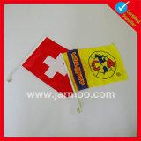 Custom печати ткань полиэстер стороны флаг
