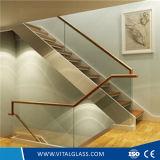 Vetro Tempered curvo vitale per le scale/parete