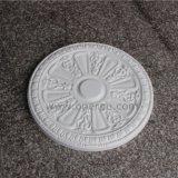Candelabros decorativos Hn-056 da espuma de poliuretano do medalhão do teto do plutônio de Rosa